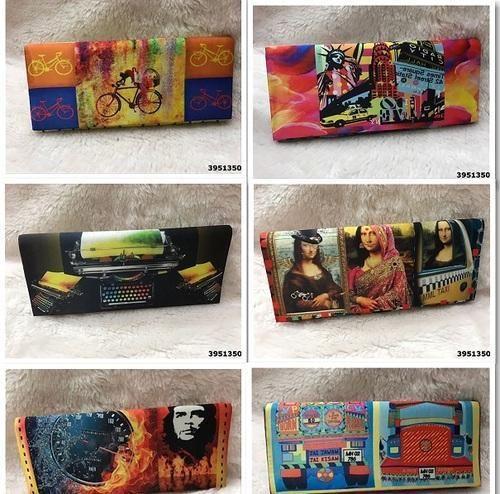 Digital Print Clutch Bags