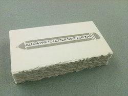 Deckle Edged Handmade Paper Cards
