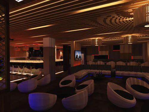 Hotel LED Interior Ceilings
