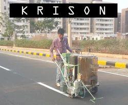 Hand Push Road Marking Machine