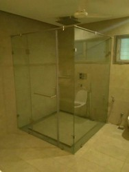 Bathroom Glass Partition bathroom glass partition manufacturer from coimbatore