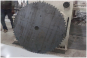 Crusher Machine Teeth Cutting Job Work