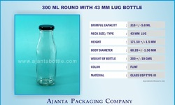 300 ml Juice & Milk Bottle