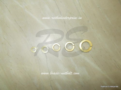 brass spring washer