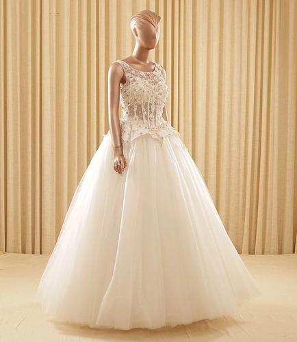 Wedding Gown & Baby Pink Wedding Gown Wholesaler from Mumbai