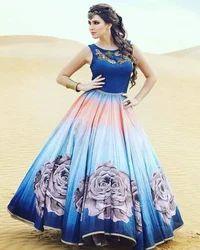 Latest Baghalpuri Party Wear Gown