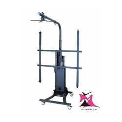 Motorized Interactive Whiteboard and Projector Stand