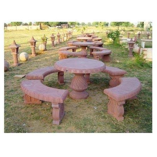 stone garden furniture