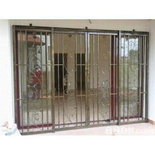 Metal Steel Decorative Window Grill At Rs 450 /kilogram