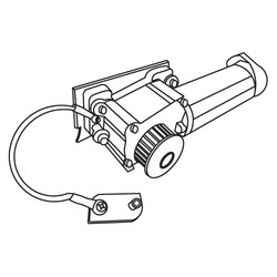 Dorma Automatic Sliding Door Motor Assembly