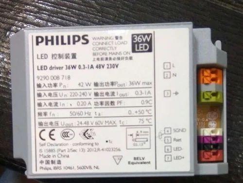 PHILIPS LED Driver Distributors Delhi,India - Philips LED Driver 50W 1500Ma Wholesale Distributor from New Delhi