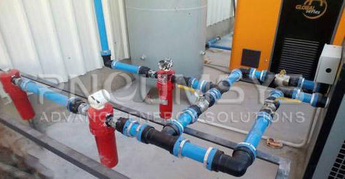 Aluminium Pipe For  Compressed Air