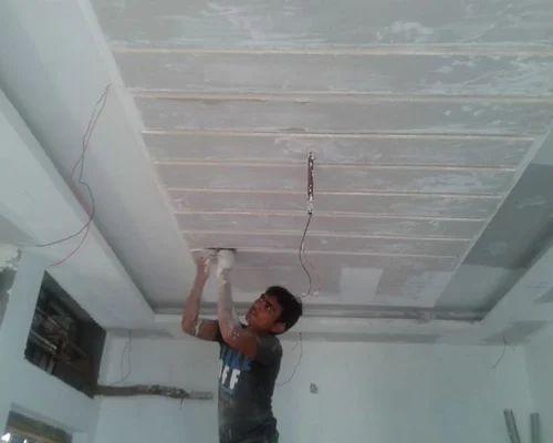 False Ceiling Contractor Work Gypsum False Ceiling