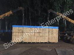 Heavy Pine Wood Boxes