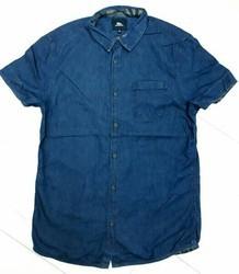 Men Branded Denim Shirt