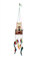 Copper Enamelled Wind Chimes/ Lanterns