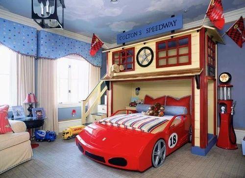 Racing Car Bed