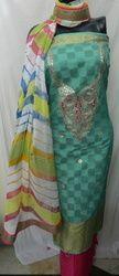Aaditri Banarasi Silk Suit
