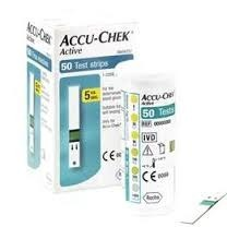 Accu Chek Active Glucometer Strips
