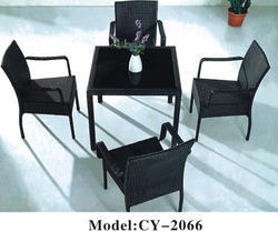 Rattan Metal Chair