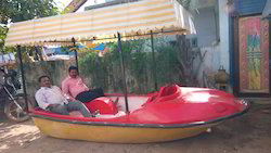 FRP Pedal Boat with Roof