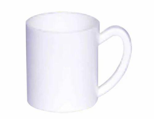 11 OZ White Polymer Mug