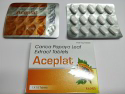 Aceplat Carica Papaya Leaf Extract Tablets