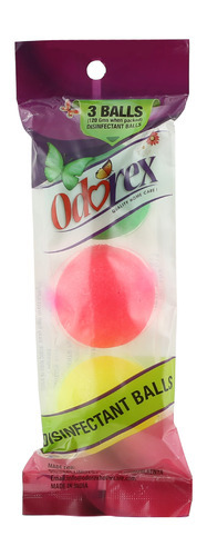 Odorex Disinfectant Color Balls