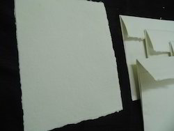 Deckle Edged Cotton Rag Handmade Drawing Papers With Sizing