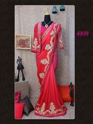 Designer Embroidery Border Sarees