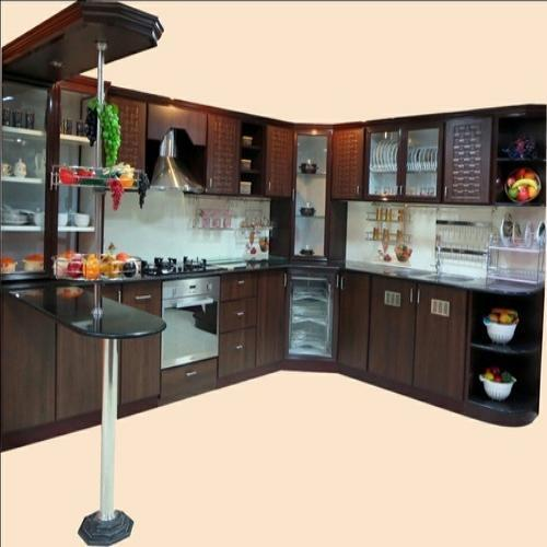 Aluminium Modular Kitchen At Rs 1100 Square Feet: Aluminium Kitchen Cabinet Price In India