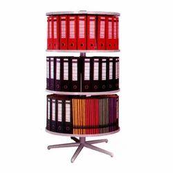 Round File Rack