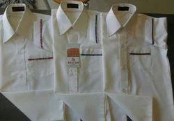 Super White Half Shirt