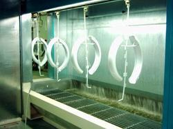 Water Curtain Spray Paint Booth