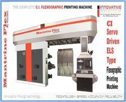 Spot Varnish Flexo Printing Press