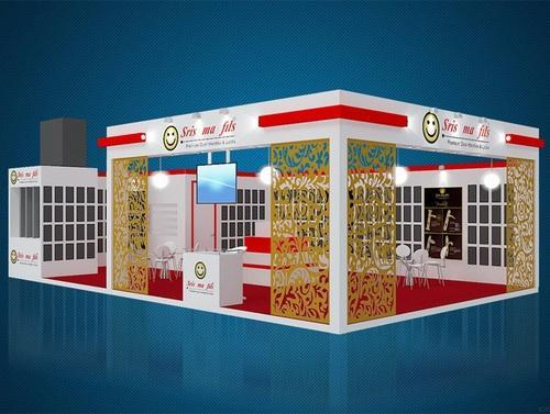 Exhibition Booth Quotation : Exhibition booth fabrication services manufacturer from