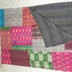 Vintag Silk Kantha Quilt