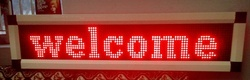 LED Moving Message Display Boards