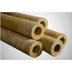 Rockwool pipe section wholesaler wholesale dealers in india for Mineral wool pipe insulation weight per foot