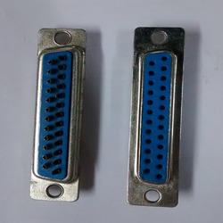 25- Pin- D Type- Female- Connector