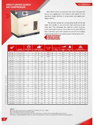 BAC Direct Drive Screw Air Compressor