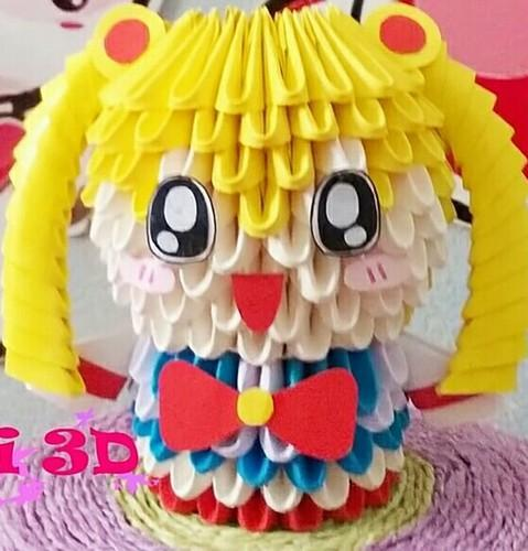 3D Origami Doll 3d Baby Rabbit Manufacturer From Ghaziabad