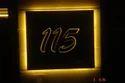 Backlit House Number Plate