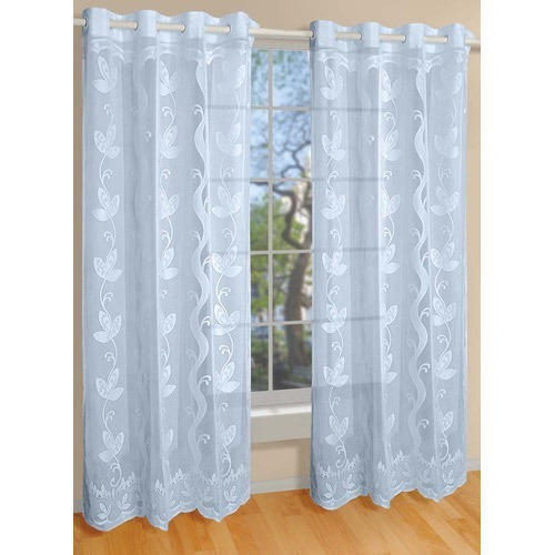 White Knitted Curtain