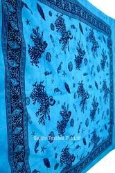 Indian Tapestry Sea Life Bed Spreads
