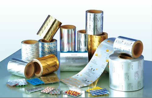 Printed Aluminum Pharma Foil