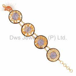 Fire Opal Gemstone Bracelets