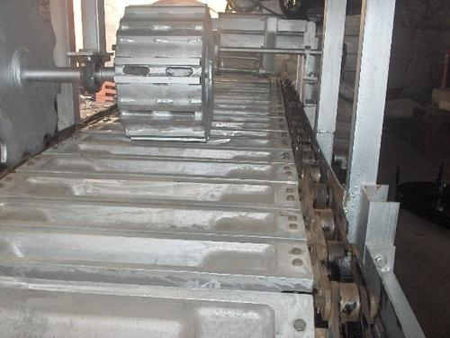 Lead Ingot Casting Machine