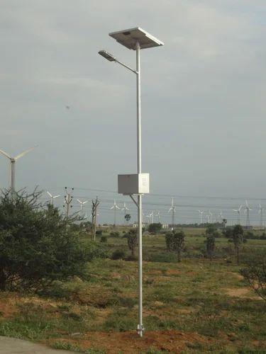 solar street light double armed solar street light pole