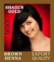 Natural Brown Hair Color Powder